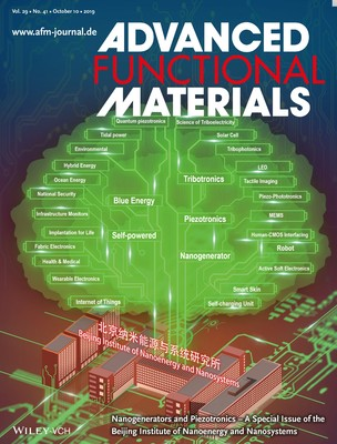 "This special issue showcases some of the ongoing research at the Beijing Institute of Nanoenergy and Nanosystems (BINN). The fields of research can be summarized using a""science tree"". The main trunk is based on functional materials and fundamental physics effects. The major fields of research are self‐powered systems, nanogenerators, blue energy, tribotronics, piezotronics, and piezo‐phototronics. The small branches represent the potential applications and future perspectives.                            石波璟、欧阳涵"